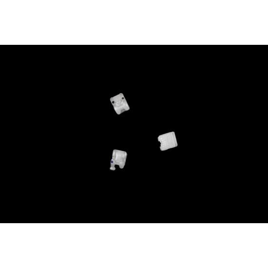 ORTHO SPARK Passive Ceramic Self Ligating Brackets  ( SUPREME Series - MBT 022 )
