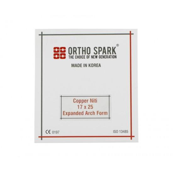 ORTHO SPARK Copper NiTi Wire Rectangular
